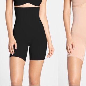 Spanx encore high waist mid thigh shaper size L